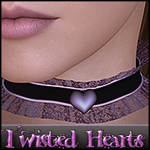 SV Twisted Heart Chokers