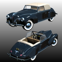 LINCOLN ZEPHYR COUPE CONVERTIBLE 1940 (for Poser)