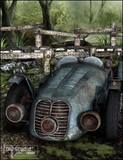 Dumped for Sports Car Meteor 1947