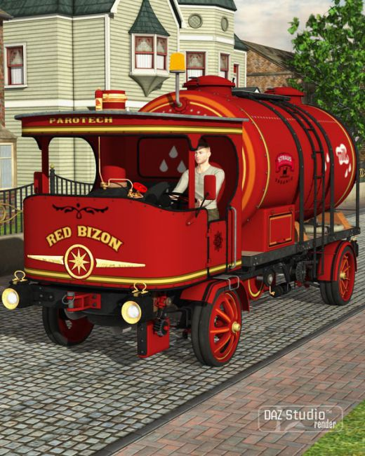 Steam Truck Red Bizon Expansion