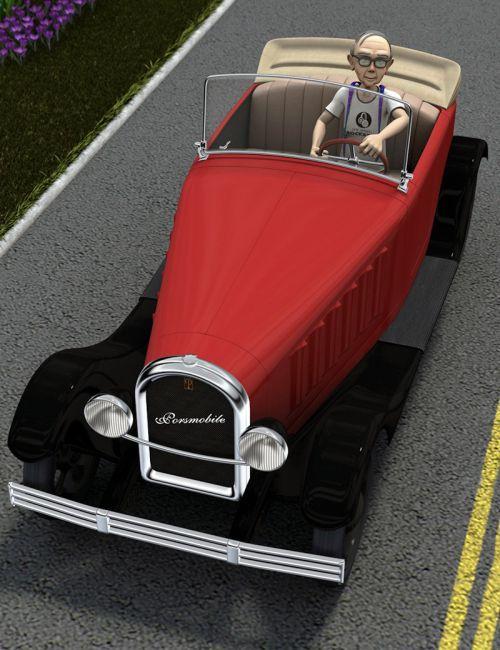Porsmobile Toon Car