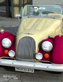Sports Car Morris 1936