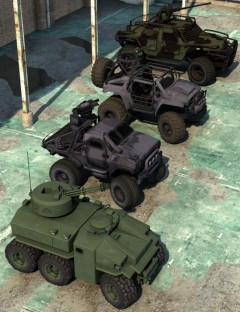 DzFire's Vehicle Pak 1