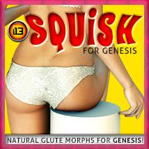 i13 SQUISH glute morphs GENESIS