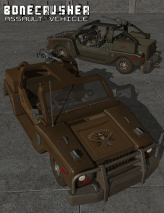 BoneCrusher Assault Vehicle