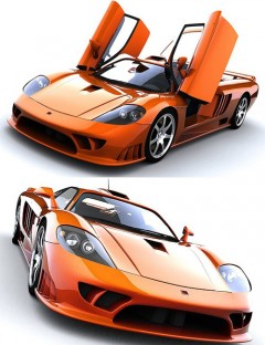 SR8 Supercar 3DS Version