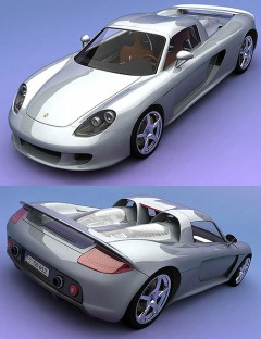 German GT Sports Car - 3DS Version