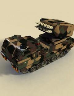 SR31 Mobile Missile Launcher