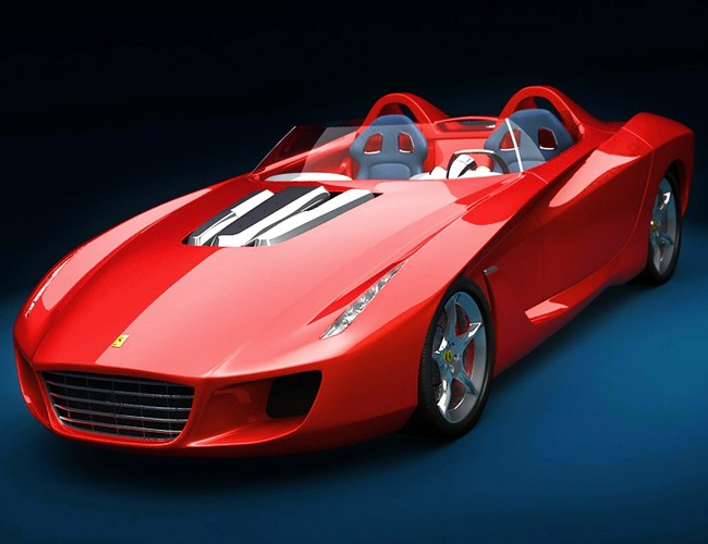 Red Spyder Concept (3DS Version)