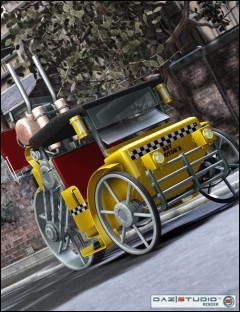 Steam Cab-Taxi