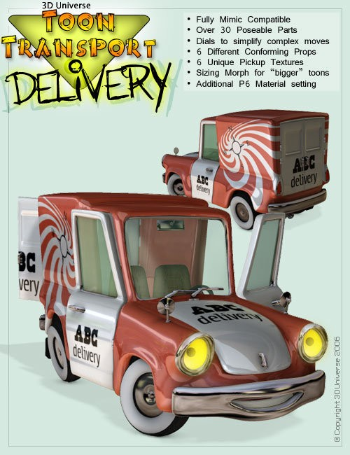 Toon Transport - Delivery