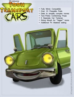 Toon Transport- Cars