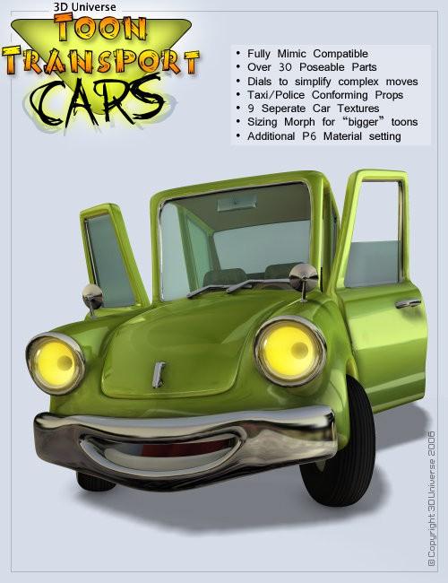 Toon Transport - Cars