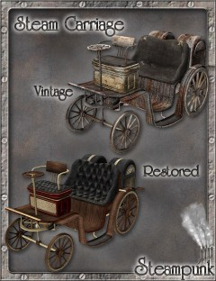 Steam Carriage - Vintage and Restored