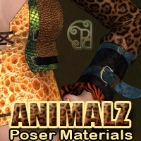 Pd-Animalz Poser Materials