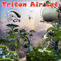 Triton Air set