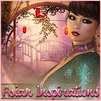 Asian Inspirations- Backgrounds & Poses