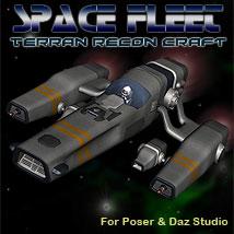 Space Ship Terran Recon Craft