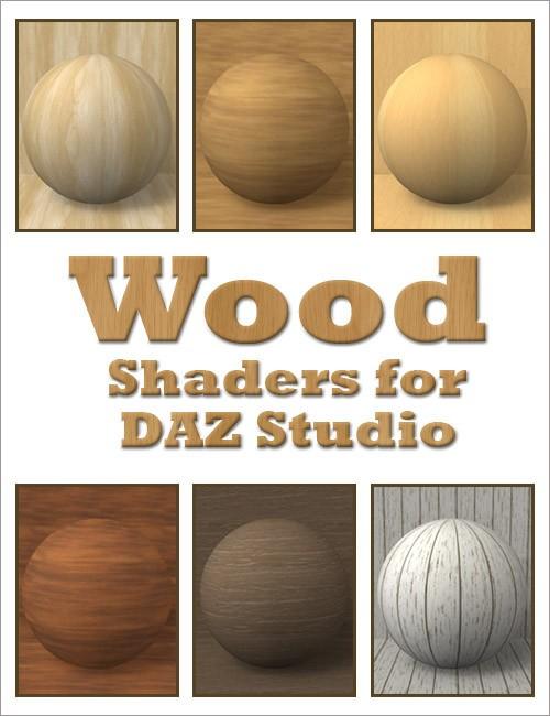 Wood Shaders for DAZ Studio