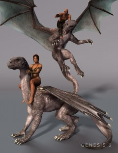 DAZ Dragon 3 Fantasy Poses