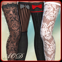 Crazy Stockings for French Maid