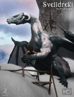 Svelldreki - The Snow Dragon HD