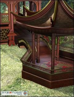 Lotus Garden for Oriental Pavilions
