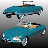 CITROEN DS 21 CABRIOLET (for Poser)