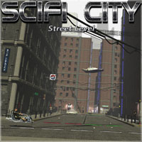 SciFi City Street Level