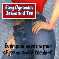EASY DYNAMICS Jeans and Tee