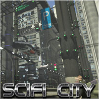 SciFi City Construction Set - Base Pack 1