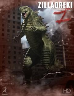 Zilladreki - The Monster Dragon HD