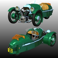MORGAN 3-WHEELER 1911-1939 (for POSER)