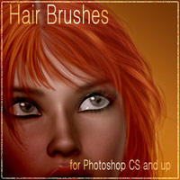 Antje's Hair Brushes - 3 & Bonus Tutorial