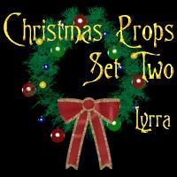 Christmas Props: Set2