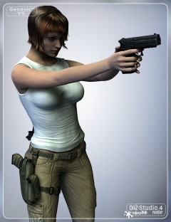 Stalker Girl Guns for Genesis