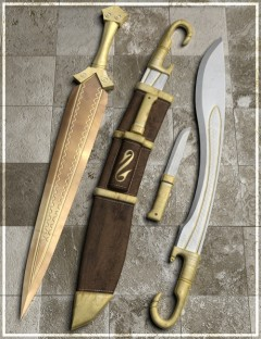 Ancient Blades by Merlin