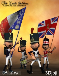 Little Soldiers Accessories Pack 3