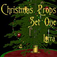 Christmas Props: Set1