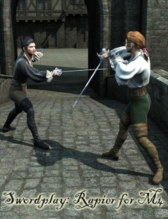 Sword Play- Rapier Poses for M4