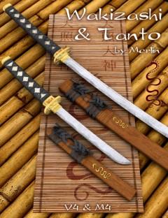 Wakizashi and Tanto by Merlin