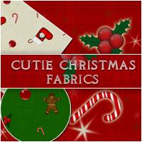 Cutie Christmas Fabrics