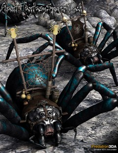 Giant Fantasy Spider Tack