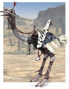 Noggin's Ostrich Armor