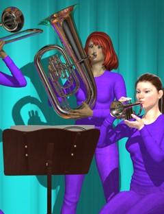 Genesis Musicians Brass Players V5