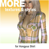 MORE Textures & Styles for Hongyus Shirt