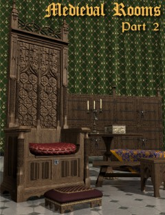 Medieval Rooms Part 2