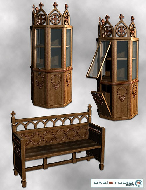Medieval Furniture Pack Environments And Props For Daz