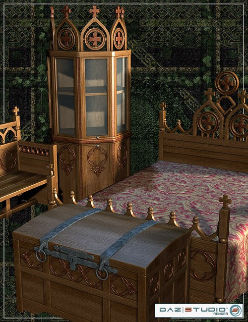 Medieval Furniture Pack Preview ...
