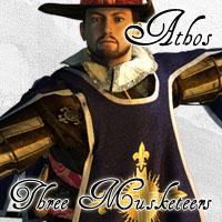 Three Musketeers- Athos